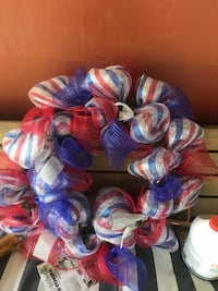 July 4th wreath. Very large Shreveport, 71105