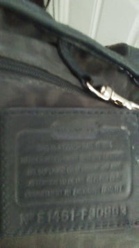 black and gray leather bag Pasco