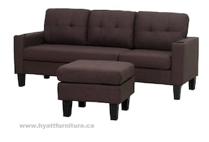 Brand new Best Value Fabric Sectional sofa