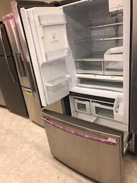 Stainless steel French doors refrigerator  Laurel, 20707