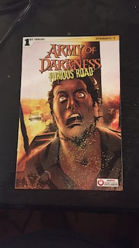 Army of Darkness Furious Road Comic Book. (Gamestop Exclusive) 267 mi