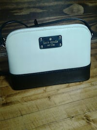 white and black Kate Spade leather pouch Pittsburgh, 15202