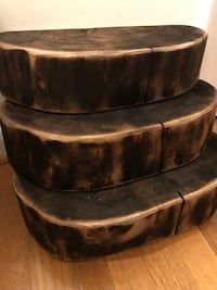 Live Edge Solid Wood Shelves ($75 each) McLean, 22101
