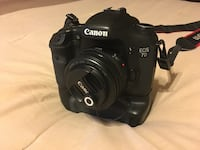 Canon 7D with 50mm f1.8, high speed 64GB Memory Card and more Olney, 20832