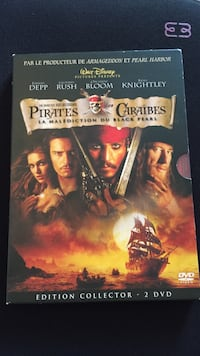 Pirates des Caraïbes Malédiction du Black Pearl DVD