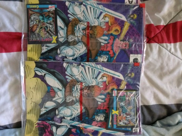 X-Force issue #1 All collector's issue comics A-E  28df04b4-eee2-4c22-89b4-f82f1df8b3ff