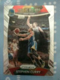 Stephen Curry trading card