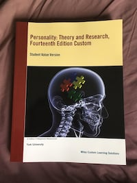 Personality: Theory and Research (Psych 2130) Toronto, M3J 1P3