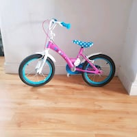 toddler's pink and blue bicycle 80-110cm Newport, NP19 8DJ