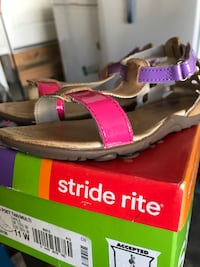 Girls sandals Stride rite(size 11W)