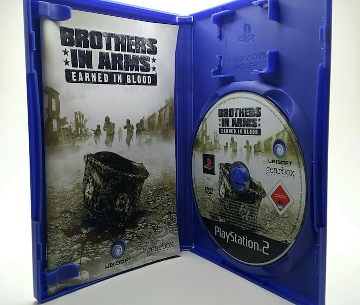 Brothers In Arms: Earned In Blood PS2 4c7a5309-e3c5-46e7-8885-3826dfbe2cad