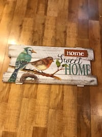Home Sweet Home bird picture wall hanging  Harpers Ferry, 25425