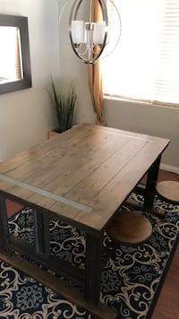Table for sale! 799$ world market new - 2 years old - 400$ OBO Bakersfield, 93312