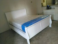 Brand New Full Size Sleigh Bed +Mattress Set