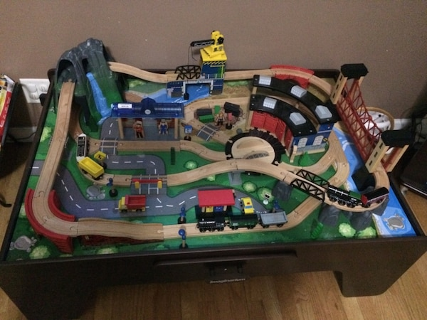 Used Imaginarium Rock Mountain Train Table for sale in Stamford - letgo