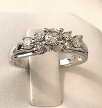 14k white gold diamond engagement ring *Compare at $2,700 Vaughan, L4J
