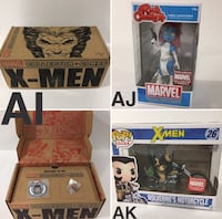 Marvel Collector Corps - X-Men (no T-shirt) Mississauga, L4W 5N2