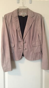 Nine West Leather jacket size med. very light violet Innisfil, L9S 0E3