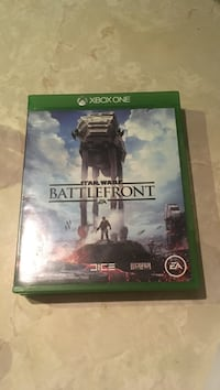 Star Wars Battlefront Xbox One game case Calgary, T2G