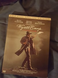 Wyatt Earp Two-Disc Special Edition DVD case