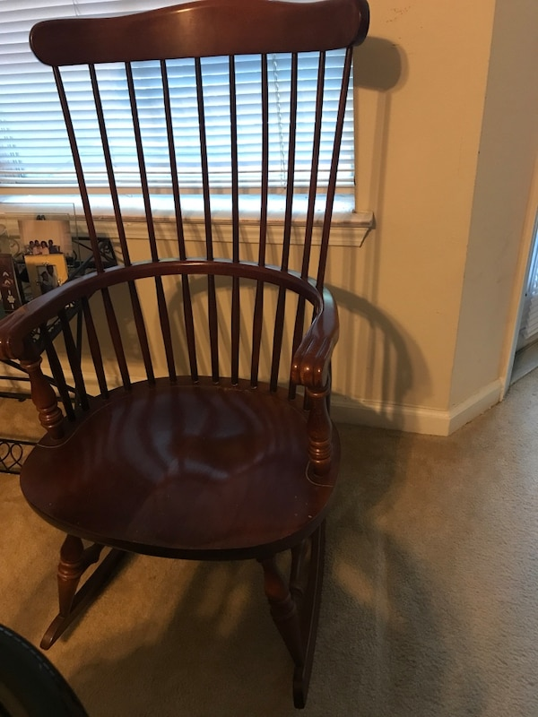Strange Solid Oak Virginia House Rocking Chair Gmtry Best Dining Table And Chair Ideas Images Gmtryco