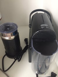 Nespresso coffee maker + milk frothed Arlington, 22209