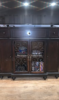 Cabinet, entryway cabinet, tv stand, Wood Omaha, 68134
