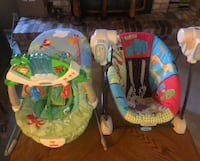 Baby swing and bouncer Manteca, 95336