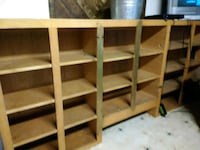 brown wooden 6-layer shelf Youngstown, 32466