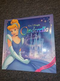 Walt Disney Cinderella Picture Book- Special Edition