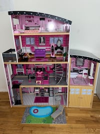 HUGE Wooden Barbie Dream House