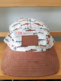 Dravus gone fishing, 5 panel camper hat