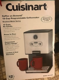 Cuisinart Coffee on Demand 12-Cup Programmable Coffeemaker box Vista, 92084