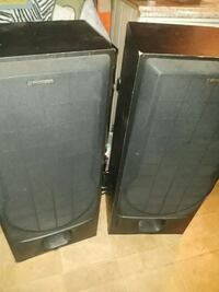 two black and gray speakers Fort Pierce, 34946