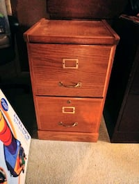 Wood 2 drawer filing cabinet Airville, 17302