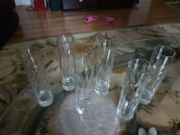 clear glass decanter and wine glasses Vaudreuil-Dorion, J7V 5L6