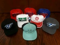 assorted fitted and snapback hats Toronto, M6A 2T9