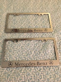Mercedes Benz license plate covers