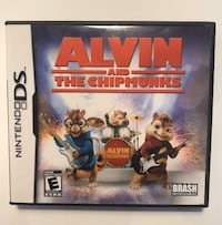 Nintendo DS Alvin and The Chipmunks Gameboy game. Case, booklet & game Toronto, M9B 0A1