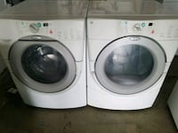 white front-load clothes washer and dryer set Oxnard, 93030