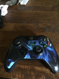 blue and black Xbox One controller Rockville, 20852