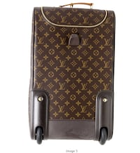Authentic LOUIS VUITTON monogram canvas leather tote bag, hardly used & in mint condition.  Toronto, M1H 2P4