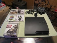 ps3 with games, mini headset, and more. Pittsfield