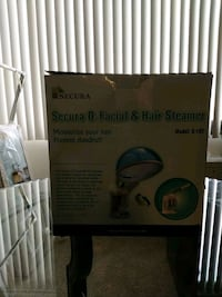 REDUCED!!! Secura facial and hair steamer 42 km