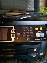 Epson printer fax and scan