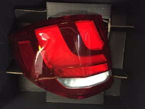 car taillight with box