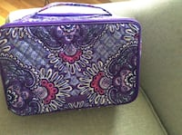 Vera Bradley Purple Tapestry Makeup/Toiletries Bag - NEW Woodbridge, 22192