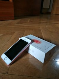 iPhone SE 16 GB Rose Gold 6119 km