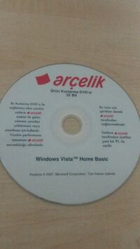 Windows Vista format cd