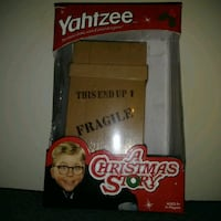 Preowned: a christmas story edition yahtzee. Only played once  Edmonton, T6X 1J9